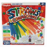 Roylco, Straws & Connectors - 230 Piece Set, R6085