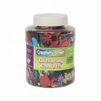 Creativity Street Glittering Confetti Shaker Jar
