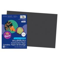 SunWorks Heavyweight Construction Paper, Black 12