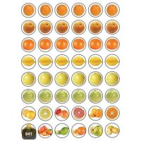Fruit Stickers 3/4