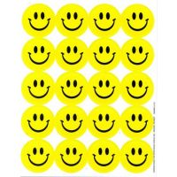Eureka Lemon Scented Smile Stickers (65093)