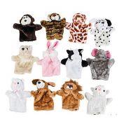 Plush Animal Hand Puppets, 1 Dozen Pack