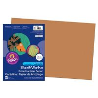 SunWorks Heavyweight Construction Paper, Brown 12
