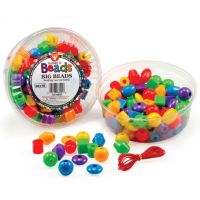 Hygloss Big Beads 68100 - 16 oz (Approx. 100 Beads) - Opaque
