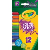 Crayola Woodless Color Pencils, Assorted, 12/Pack