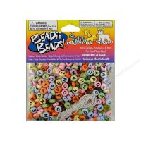 Alphabet Bead Kit 300 pc. Pastel