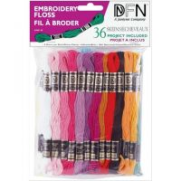 Embroidery Floss - Pastel Colors/36 Skeins