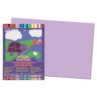 SunWorks Heavyweight Construction Paper, Lilac 12