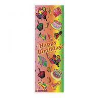 Happy Birthday Jumbo Sticker Classpacks