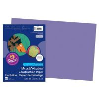 SunWorks Heavyweight Construction Paper, Violet 12