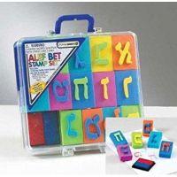 Alef Bet Foam Stamp Kit