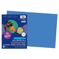 SunWorks Heavyweight Construction Paper, Blue 12