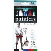 Elmer's Painters Opaque Paint Markers, Set of 5 Markers, Bright Colors, Fine Point - WA7519