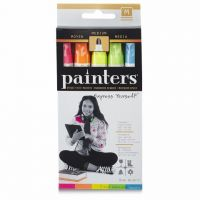 Elmer's Painters Neon Bright Opaque Paint Markers, Medium Pack of 5  W7571