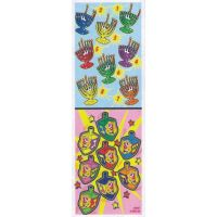 300 Self-Adhesive Jumbo Judaic Stickers Classpack  Chanukah (16 per sheet)