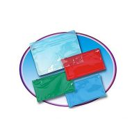 Pencil Pouch With Ziplock Closure, Clear