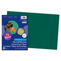SunWorks Heavyweight Construction Paper, Dark Green 12
