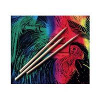Melissa And Doug Scratch Art 100 Wood Stylus Tools