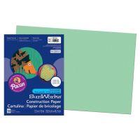 SunWorks Heavyweight Construction Paper, Light Green 12