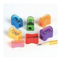 Bulk Plastic Pencil Sharpener Assortment (72 Pack)