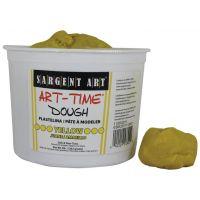 Sargent Art 3-Pound Art-Time Dough, Yellow,  85-3302