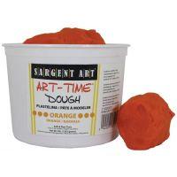 Sargent Art 3-Pound Art-Time Dough, Orange,  85-3314