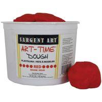 Sargent Art 3-Pound Art-Time Dough, Red,  85-3320
