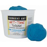 Sargent Art 3-Pound Art-Time Dough, Turquoise,  85-3361