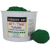 Sargent Art 3-Pound Art-Time Dough, Green,  85-3366