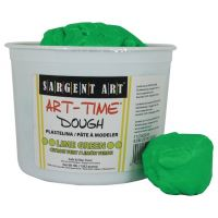 Sargent Art 3-Pound Art-Time Dough, Lime Green,  85-3379