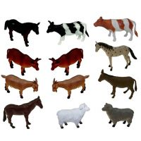 Get Ready Kids Farm Animal Playset of 12