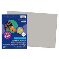 SunWorks Heavyweight Construction Paper, Gray 12