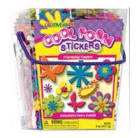 Fibrecraft Cool Foam Stickers-Friendship Flowers  5 oz