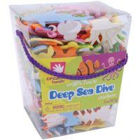 Deep Sea Dive Foam Stickers, 5 oz. Bucket, Assorted Colors
