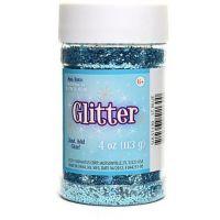 Creative Arts Craft Glitter, 4 oz. Bottle, Light Blue