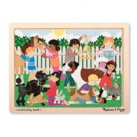 Melissa & Doug Best Friends Wooden Jigsaw Puzzle - 12 Pieces, item 9069