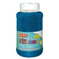 Creative Arts Craft Glitter, 16 Ounce Bottle Blue