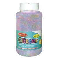 Creative Arts Craft Glitter, 16 Ounce Bottle Iridescent