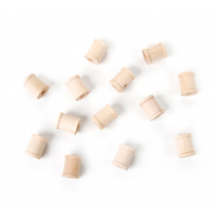 Darice Wood Spools - 3/4 x 5/8 inches - 100 pieces (9119-57)