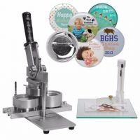 2-1/4 Inch NEIL Button Machine Includes 100 Buttons  913MINIKIT