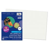 SunWorks Heavyweight Construction Paper, White12