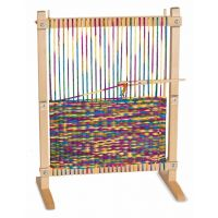 Melissa & Doug Wooden Multi-Craft Weaving Loom: Extra-Large Frame