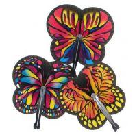 Butterfly Folding Fans , 12 units