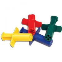 Chenille Kraft Modeling Dough Extruders (4 count)  CK-9664