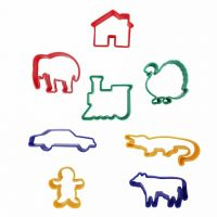Animal Shapes Dough Cutters- 8 Shapes,  CK-9766