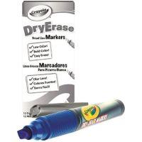 Crayola Dry Erase Marker, Chisel Tip, Blue 98-9626-042