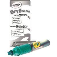 Crayola Dry Erase Marker, Chisel Tip, Green 98-9626-044