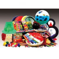 Hygloss Paper Plate Treasure Box