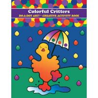 Do - A- Dot Creative Art Book - Colorful Critters B 360