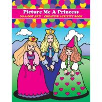 Do - A- Dot Creative Art Book -Picture Me A Princess - B-374